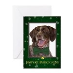 Pointer St. Patricks Day Card