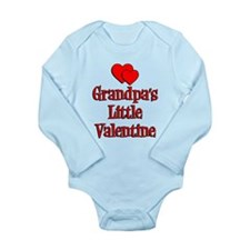 Grandpas Little Valentine Long Sleeve Infant Bodys