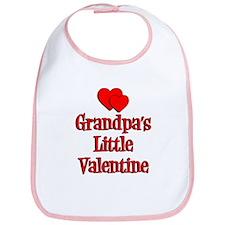 Grandpas Little Valentine Bib