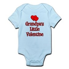 Grandpas Little Valentine Infant Bodysuit