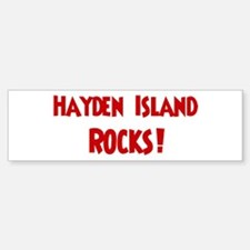 Hayden Island Rocks Bumper Bumper Bumper Sticker