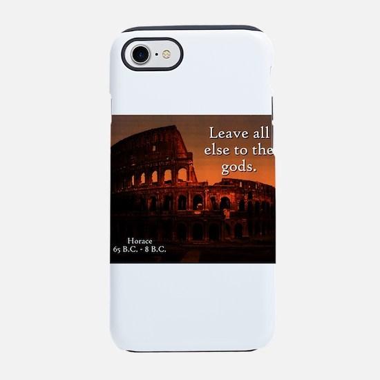 Leave All Else - Horace iPhone 7 Tough Case