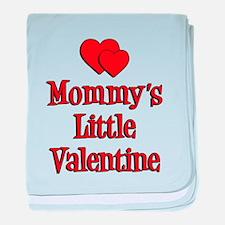 Mommys Little Valentine baby blanket