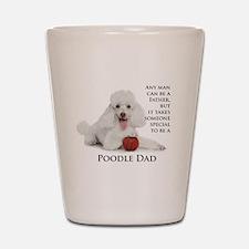 Poodle Dad Shot Glass