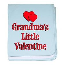 Grandmas Little Valentine baby blanket