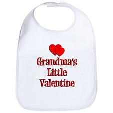 Grandmas Little Valentine Bib