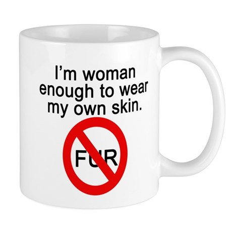 No to Fur Mug