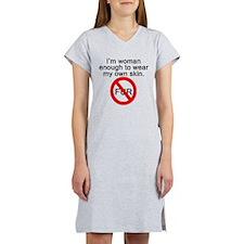 No to Fur Women's Nightshirt