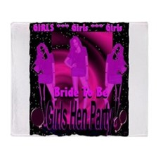 hen night girls bachorette party art illustration