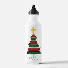Jesus Birthday Water Bottle