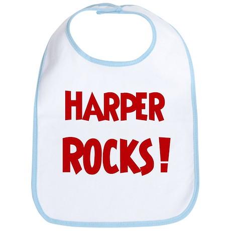 Harper Rocks Bib