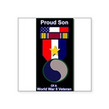 Proud Son of WWII 29th Div Soldier Sticker
