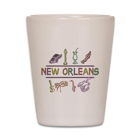 New OrleansThe Big Easy Shot Glass