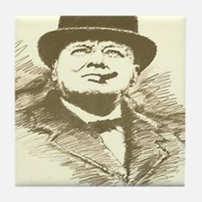 churchill Tile Coaster