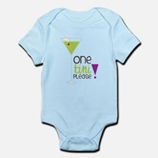 One Tini Please Infant Bodysuit