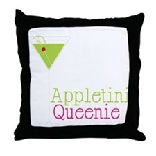 Appletini Queenie Throw Pillow