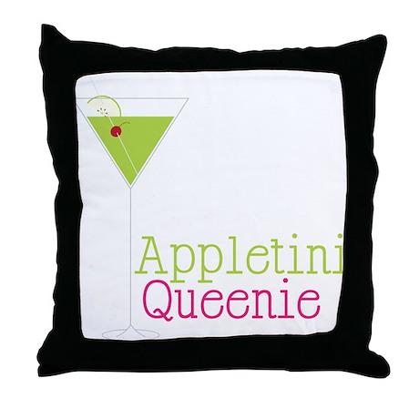Appletini Queenie Throw Pillow