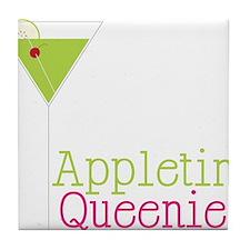 Appletini Queenie Tile Coaster
