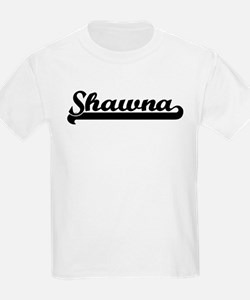 Black jersey: Shawna Kids T-Shirt