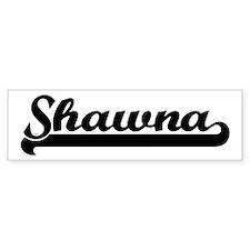 Black jersey: Shawna Bumper Bumper Sticker
