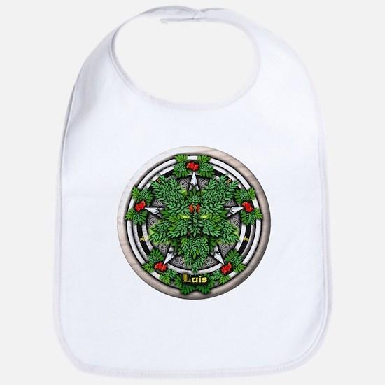 Rowan Celtic Greenman Pentacle Bib