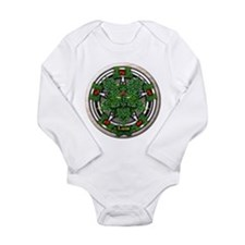 Rowan Celtic Greenman Pentacle Onesie Romper Suit