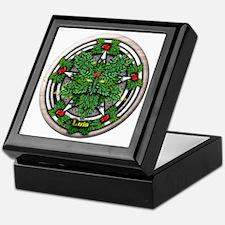 Rowan Celtic Greenman Pentacle Keepsake Box