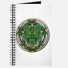 Rowan Celtic Greenman Pentacle Journal