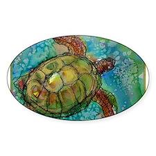 Sea turtle! Wildlife art! Decal