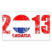 kroatien 2013 Decal