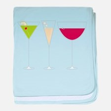 Drink Trio baby blanket
