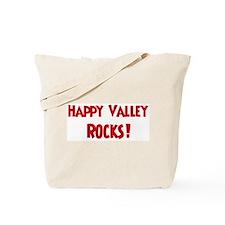 Happy Valley Rocks Tote Bag