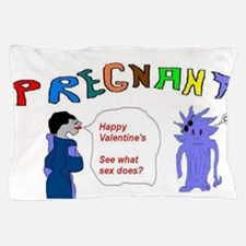Valentines Pregnant Sex Pillow Case