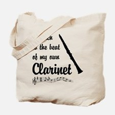 March to the Beat: Clarinet Tote Bag