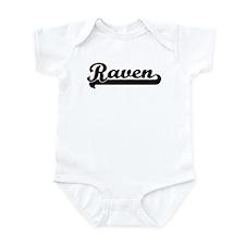 Black jersey: Raven Infant Bodysuit