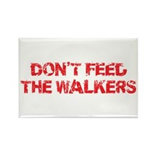 Dont Feed The Walkers Rectangle Magnet