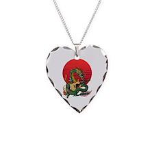 Ryuu Guitar 01 Necklace Heart Charm