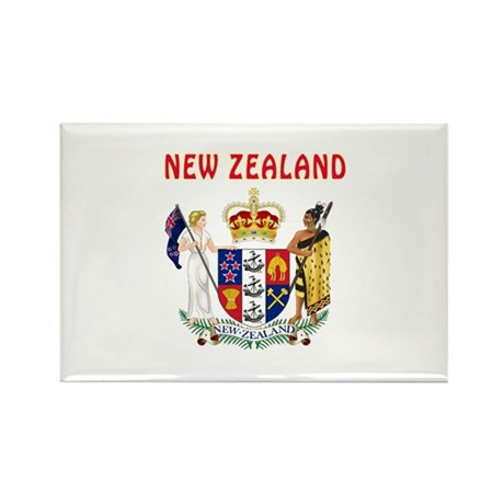 40th Wedding Anniversary Gifts New Zealand : New Zealand Coat of arms Rectangle Magnet by tshirts4countries