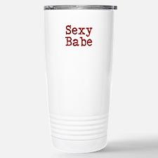 Sexy Babe Stainless Steel Travel Mug