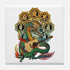 Ryuu Guitar 02 Tile Coaster