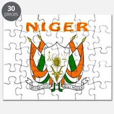 Niger Coat of arms Puzzle
