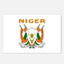 Niger Coat of arms Postcards (Package of 8)
