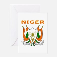 Niger Coat of arms Greeting Card