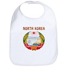 North Korea Coat of arms Bib