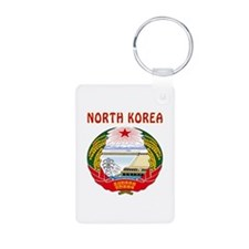 North Korea Coat of arms Keychains