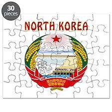 North Korea Coat of arms Puzzle