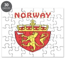 Norway Coat of arms Puzzle