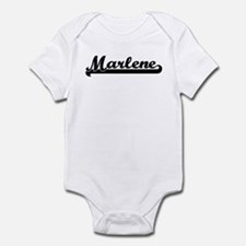 Black jersey: Marlene Infant Bodysuit