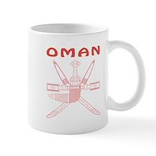 Oman Coat of arms Mug