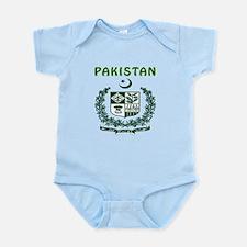 Pakistan Coat of arms Infant Bodysuit